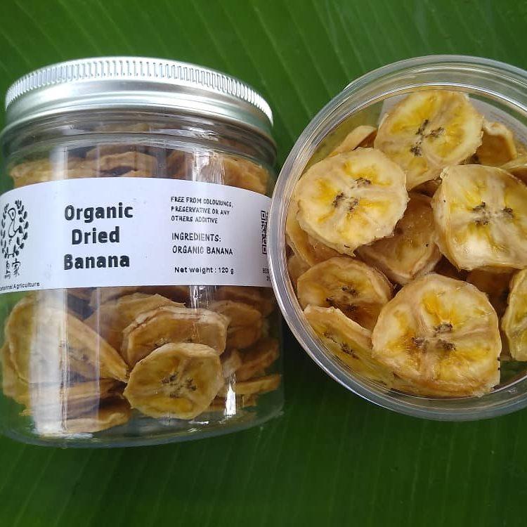 Organic Dried Banana